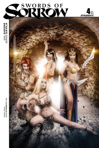Swords of Sorrow #4 (Cosplay Cover)