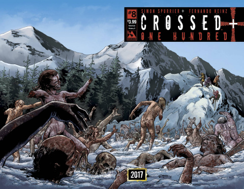 Crossed + One Hundred #8 (American History X Wrap Cover)