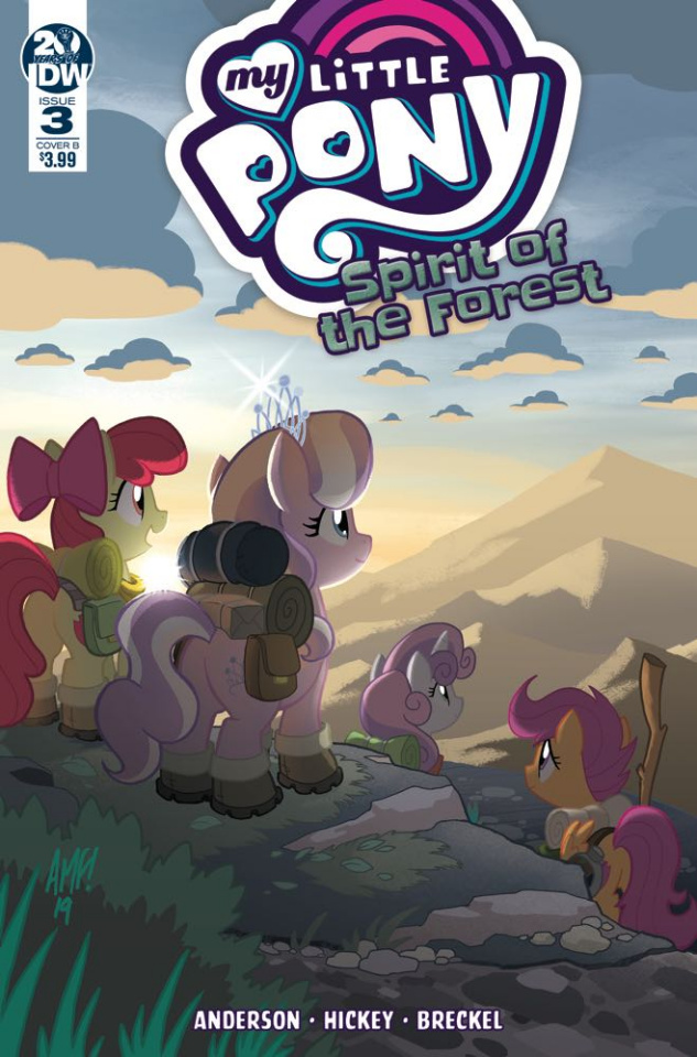 My Little Pony: Spirit of the Forest #3 (Fleecs Cover)