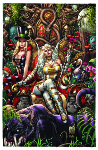 Grimm Fairy Tales: Wonderland #10 (Krome Cover)