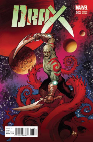 Drax #3 (Powell Cover)