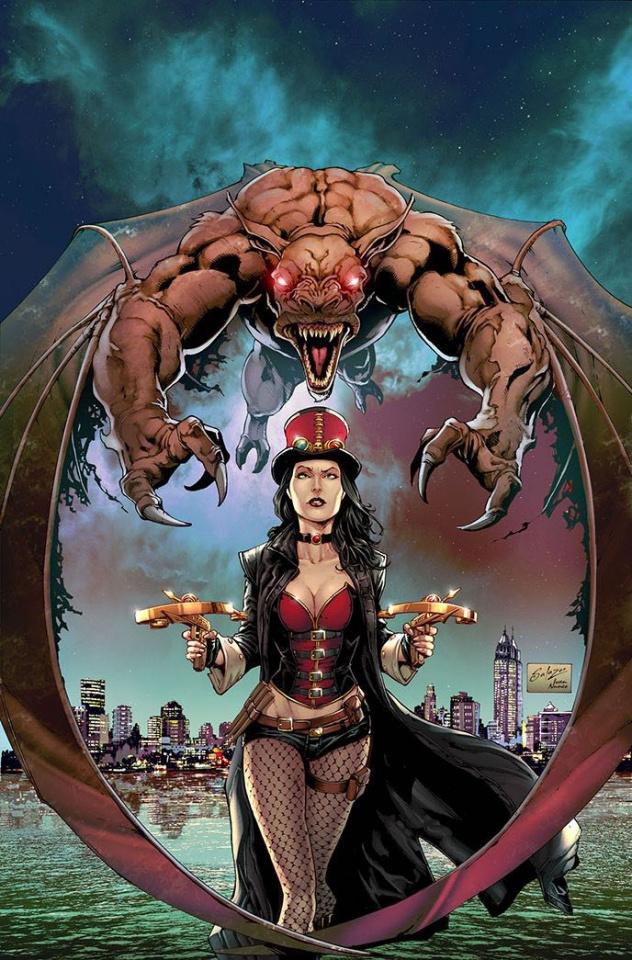 Van Helsing: The Sword of Heaven #2 (Salazar Cover)