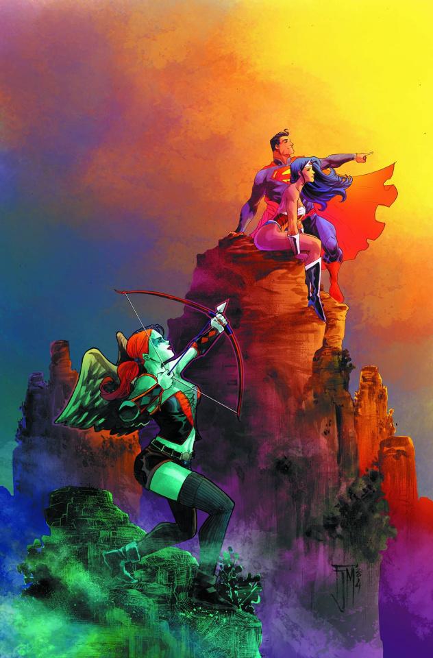 Superman / Wonder Woman #16 (Harley Quinn Cover)