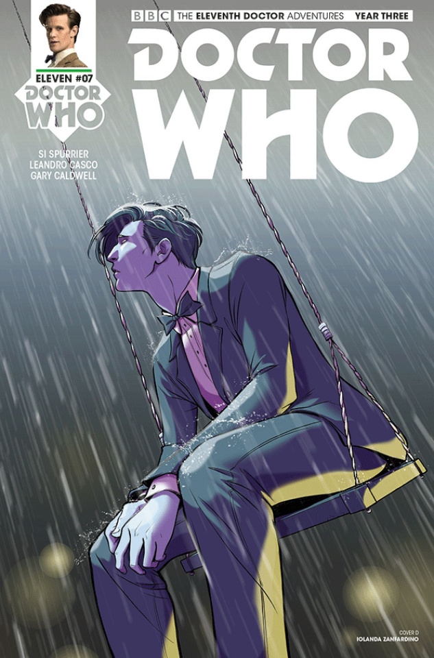 Doctor Who: New Adventures with the Eleventh Doctor, Year Three #7 (Zanfardino Cover)