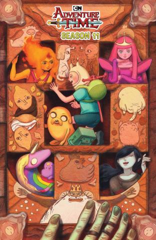 Adventure Time, Season 11 #4 (Benbassat Cover)