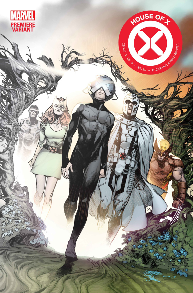 House of X #1 (Larraz Premiere Cover)