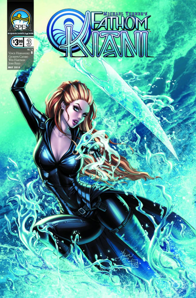 Fathom: Kiani #3 (Direct Market Cover B)