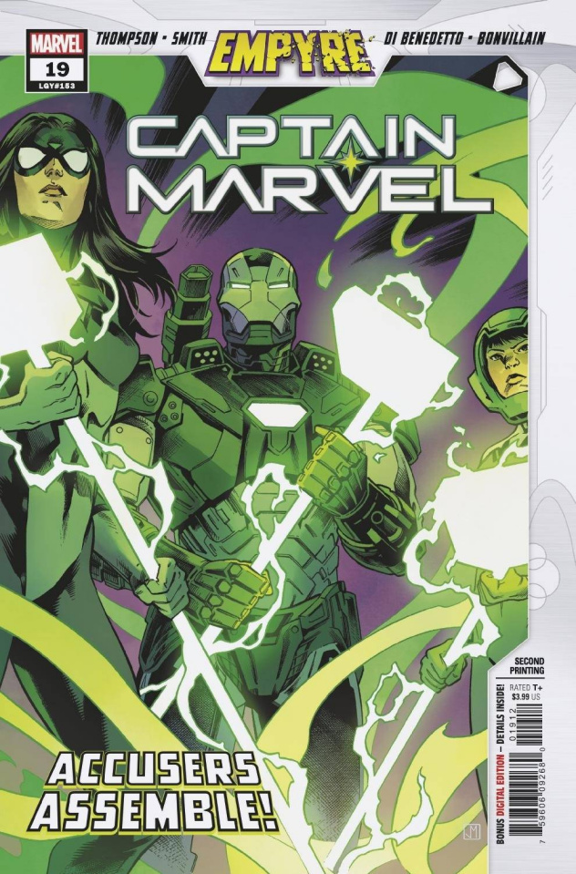 Captain Marvel #19 (Smith 2nd Printing)