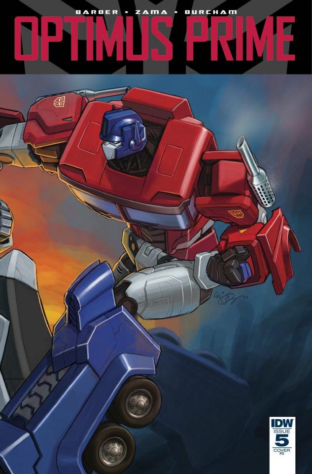 Optimus Prime #5 (10 Copy Cover)