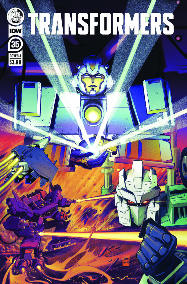The Transformers #35 (Samu Cover)