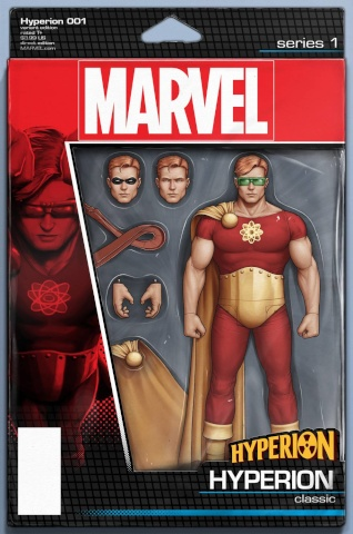 Hyperion #1 (Chistopher Action Figure Cover)