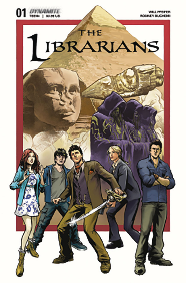The Librarians #1 (Moline Cover)
