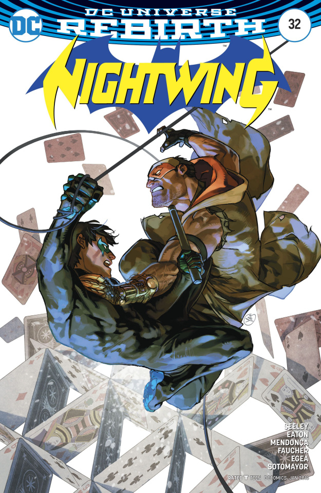 Nightwing #32 (Variant Cover)