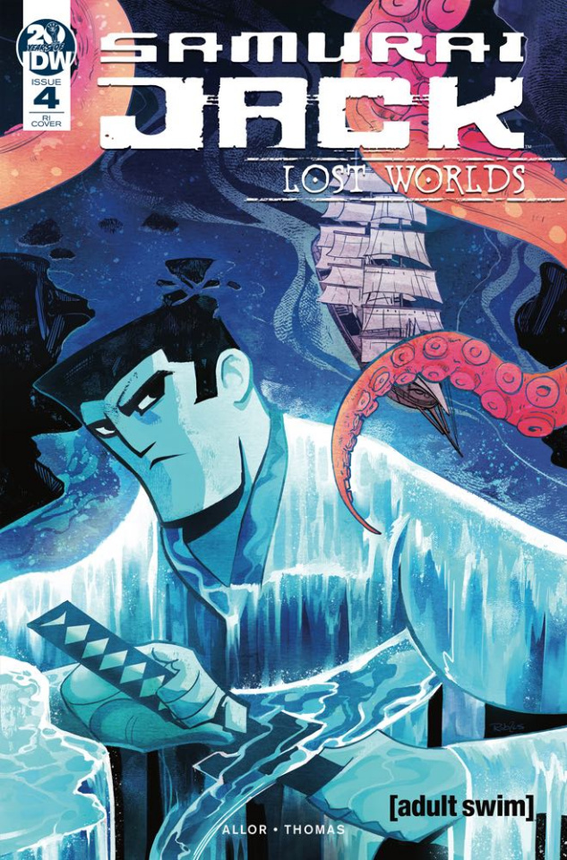 Samurai Jack: Lost Worlds #4 (10 Copy Robles Cover)