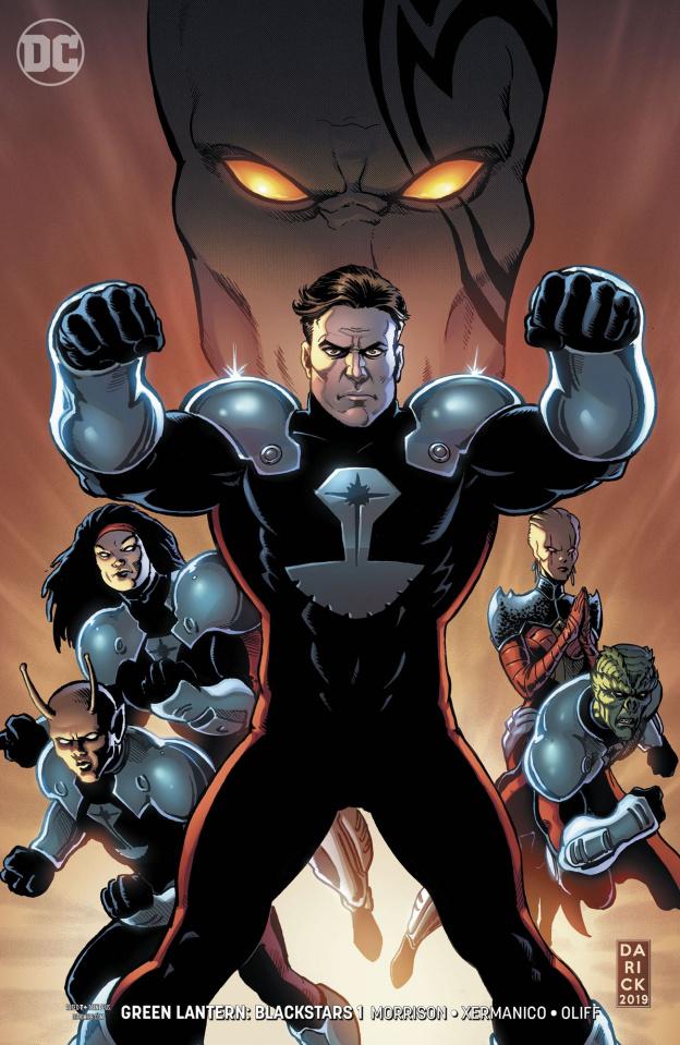 Green Lantern: Blackstars #1 (Variant Cover)