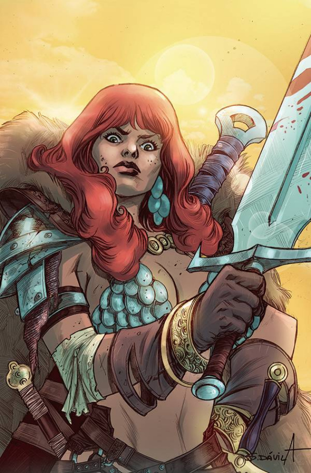 Red Sonja: The Superpowers #4 (25 Copy Davila Virgin Cover)