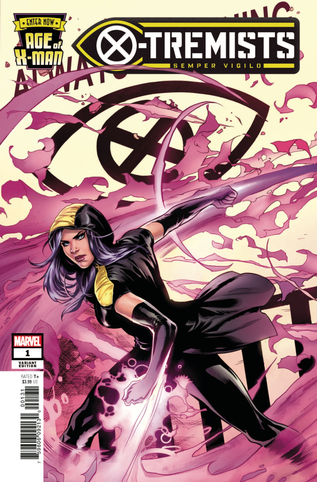 Age of X-Man: X-Tremists #1 (Lupacchino Cover)
