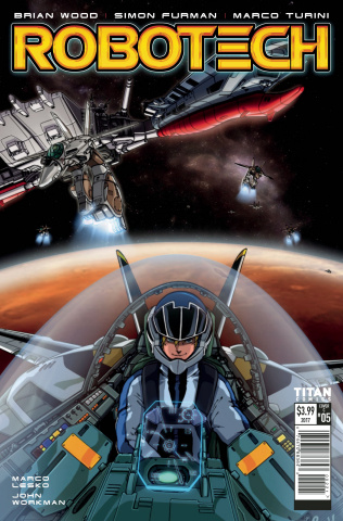 Robotech #6 (Yune Cover)
