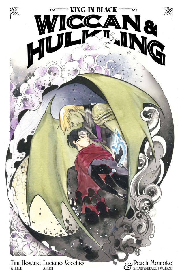 King in Black: Wiccan and Hulking #1 (Momoko Stormbreakers Cover)