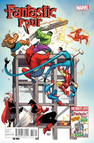 Fantastic Four #645 (Avengers Variant)