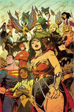 Justice League 2021 Annual #1 (Sanford Greene Cover)