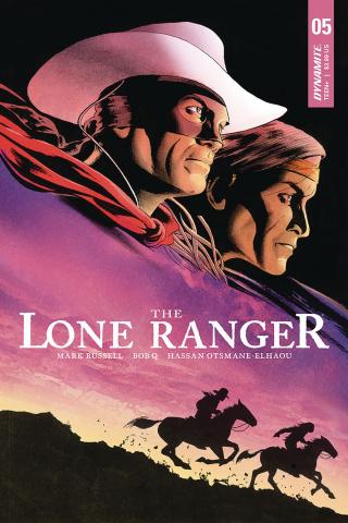 The Lone Ranger #5 (Cassaday Cover)