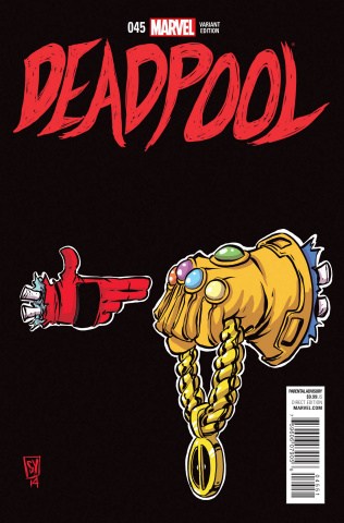 Deadpool #45 (250th Issue: Run Jewels Young Cover)
