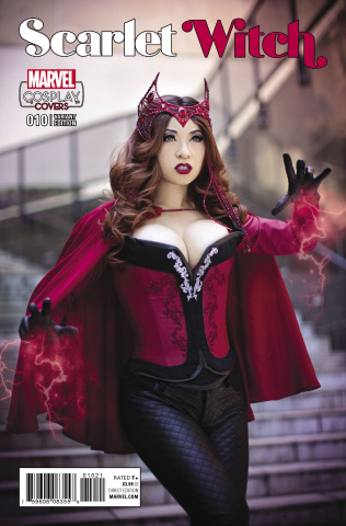 Scarlet Witch #10 (Cosplay Cover)