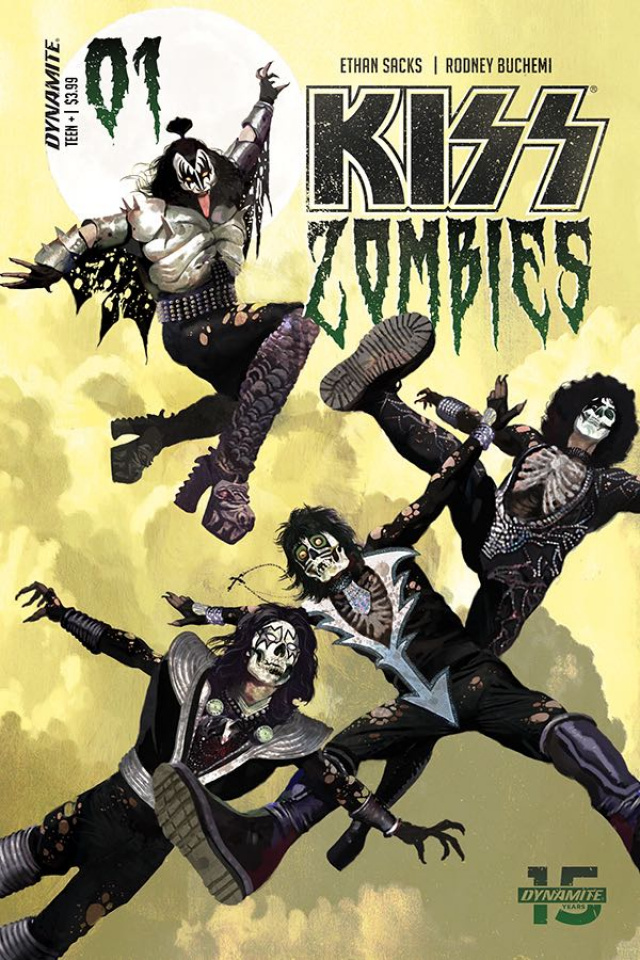 KISS: Zombies #1 (Suydam Cover)