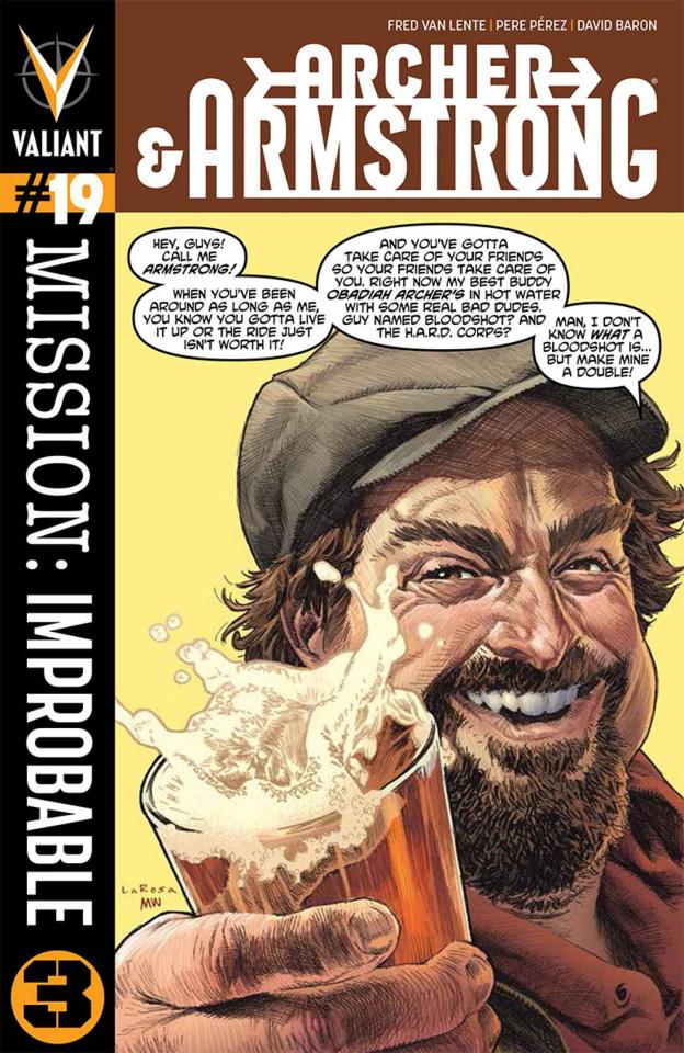 Archer & Armstrong #19 (Larosa Cover)