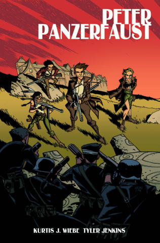 Peter Panzerfaust #21 (Oeming Cover)