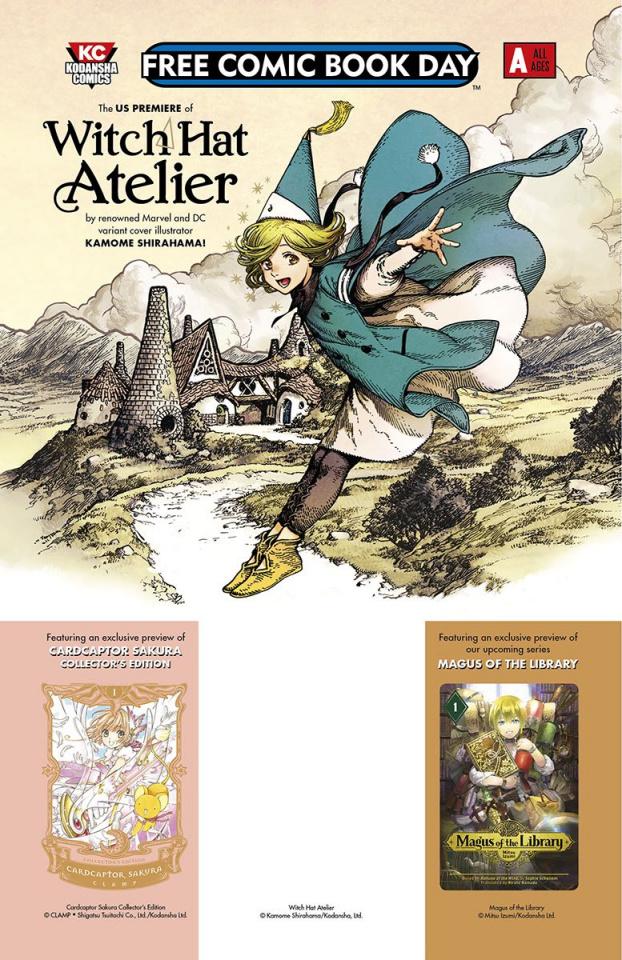 Kodansha Comics: All Ages Sampler FCBD 2019