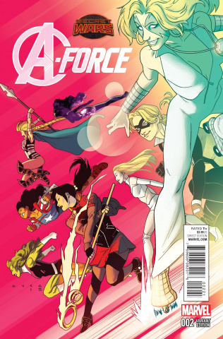 A-Force #2 (Anka Cover)