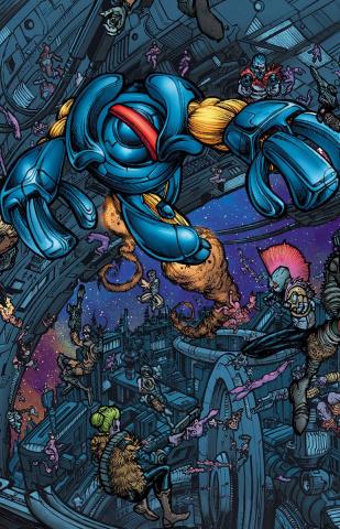 4001 A.D.: X-O Manowar #1 (20 Copy Mega Cover)