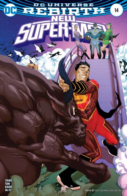 New Super-Man #14 (Variant Cover)