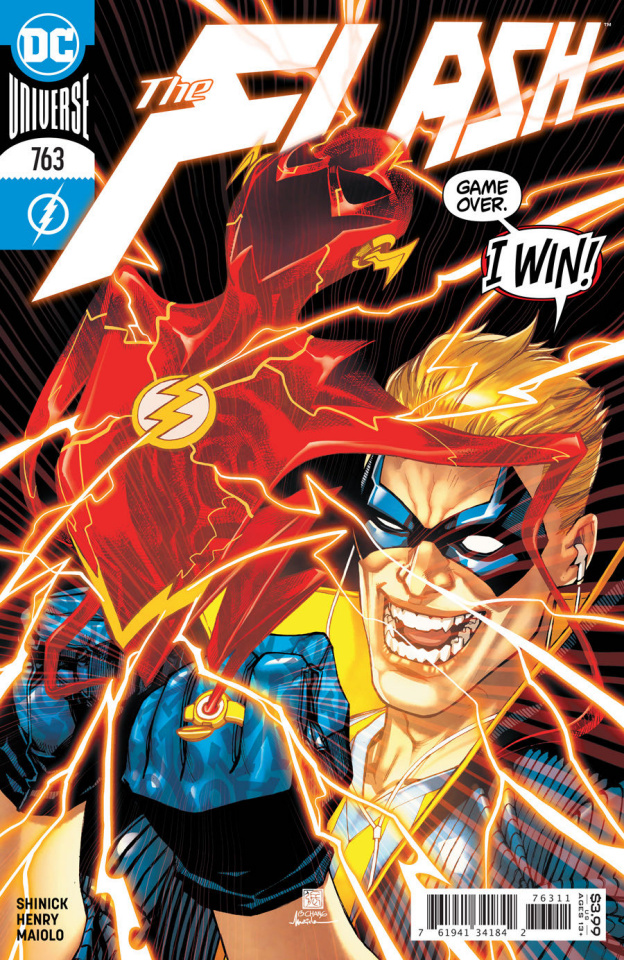 The Flash #763 (Bernard Chang Cover)