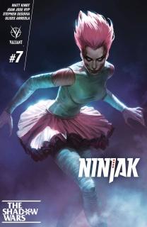 Ninjak #7 (Kevic-Djurdjevic Cover)