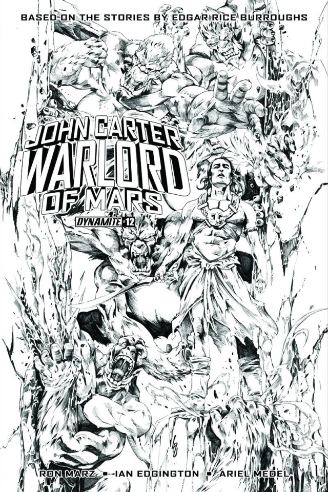 John Carter: Warlord of Mars #13 (20 Copy Lau Cover)