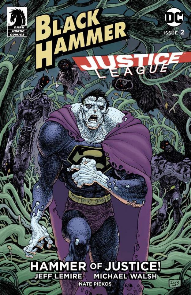 Black Hammer / Justice League #2 (Bertram Cover)