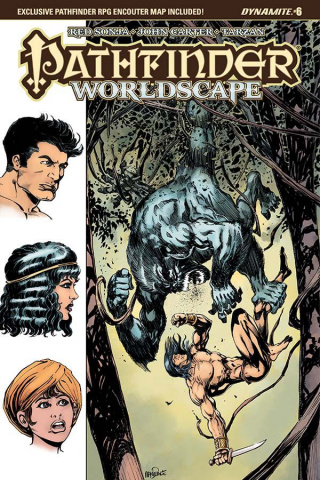 Pathfinder: Worldscape #6 (Mandrake Cover)