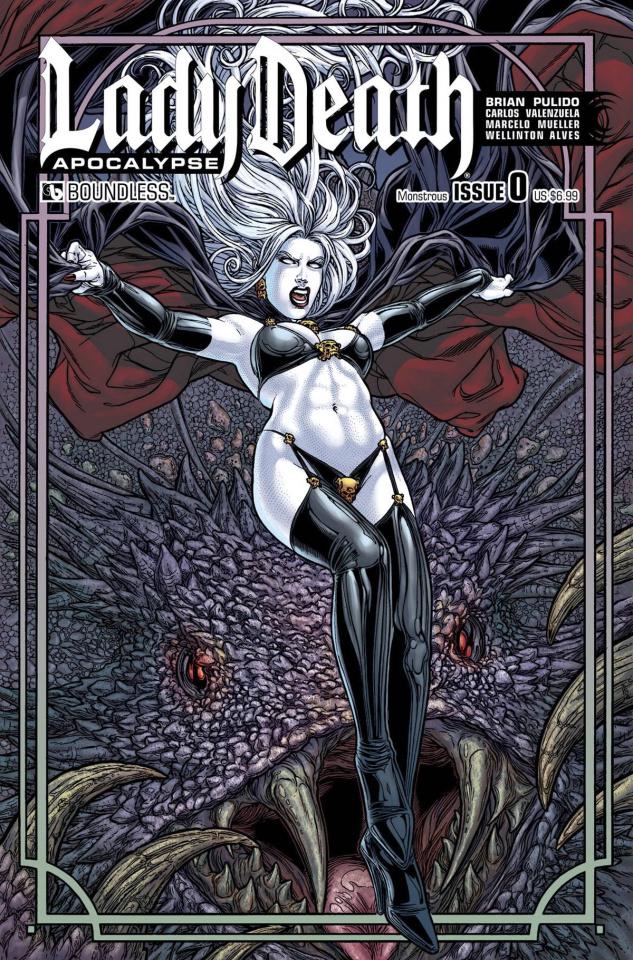 Lady Death: Apocalypse #0 (Monstrous Cover)