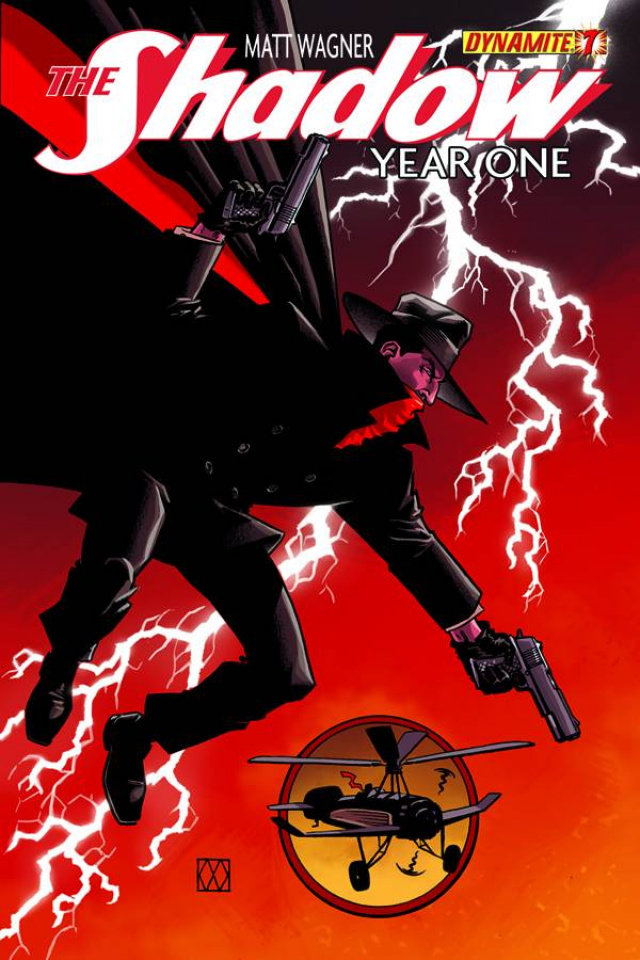 The Shadow: Year One #7 (Wagner Cover)