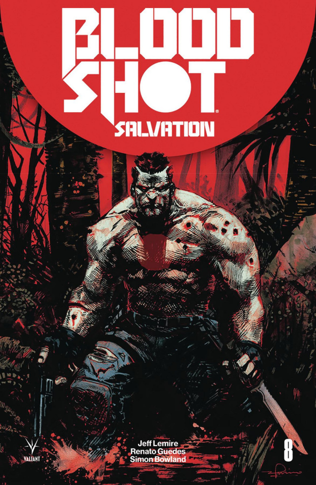 Bloodshot: Salvation #8 (Zaffino Cover)
