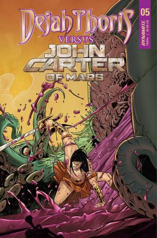 Dejah Thoris vs. John Carter of Mars #5 (Miracolo Cover)