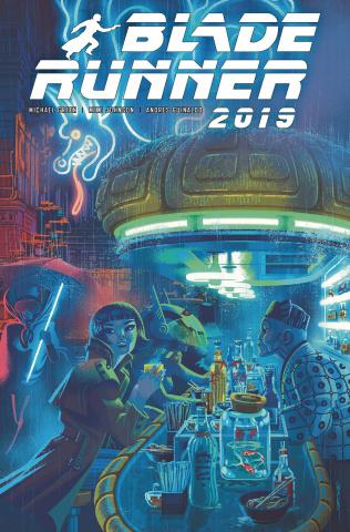 Blade Runner 2019 #9 (Caltsoudas Cover)