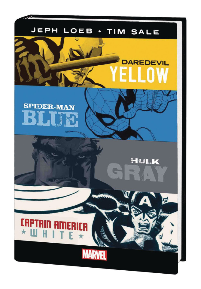 Daredevil Yellow, Spider-Man Blue, Hulk Gray & Captain America White (Omnibus)