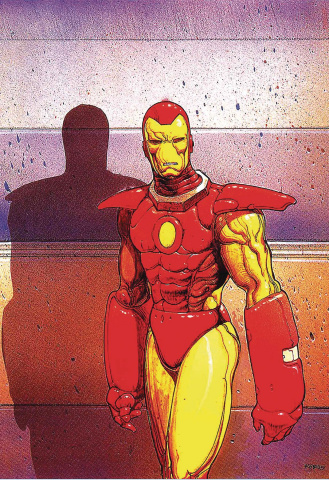 Tony Stark: Iron Man #3 (Moebius Cover)