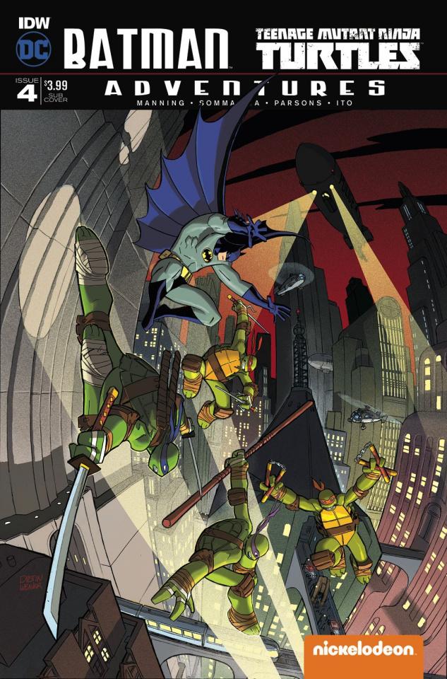 Batman / Teenage Mutant Ninja Turtles Adventures #4 (Subscription Cover)