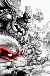 Batman / Teenage Mutant Ninja Turtles #2 (2nd Printing)