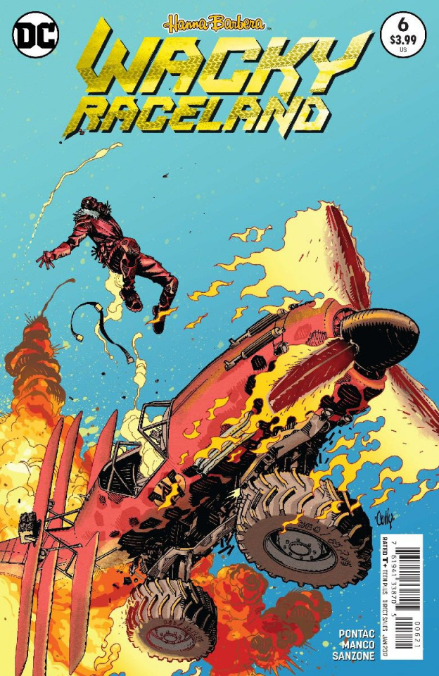Wacky Raceland #6 (Variant Cover)